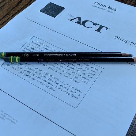 real-act-test-materials